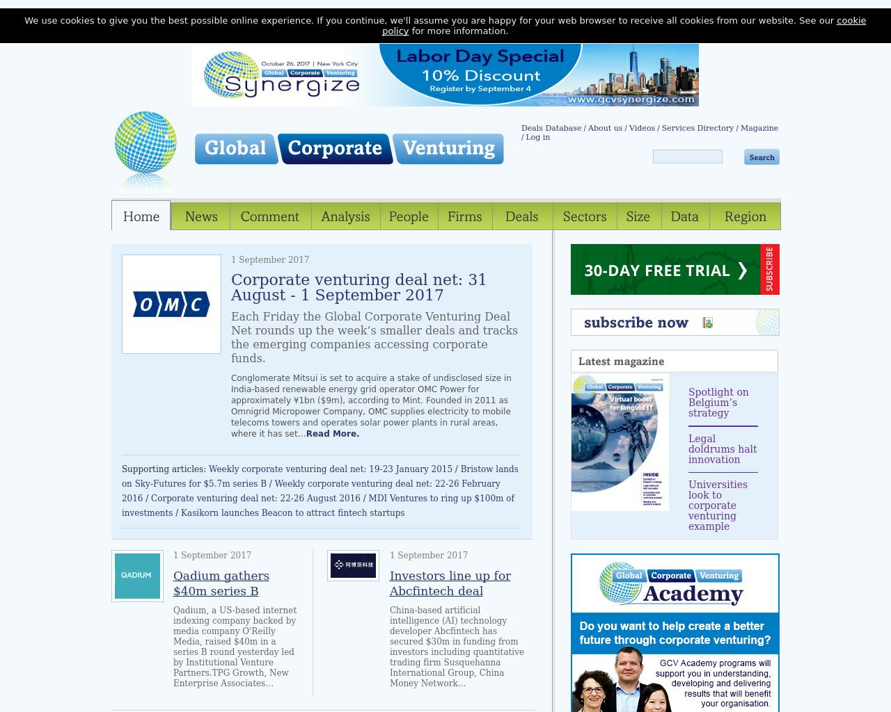 Global-Corporate-Venturing-Advertising-Reviews-Pricing