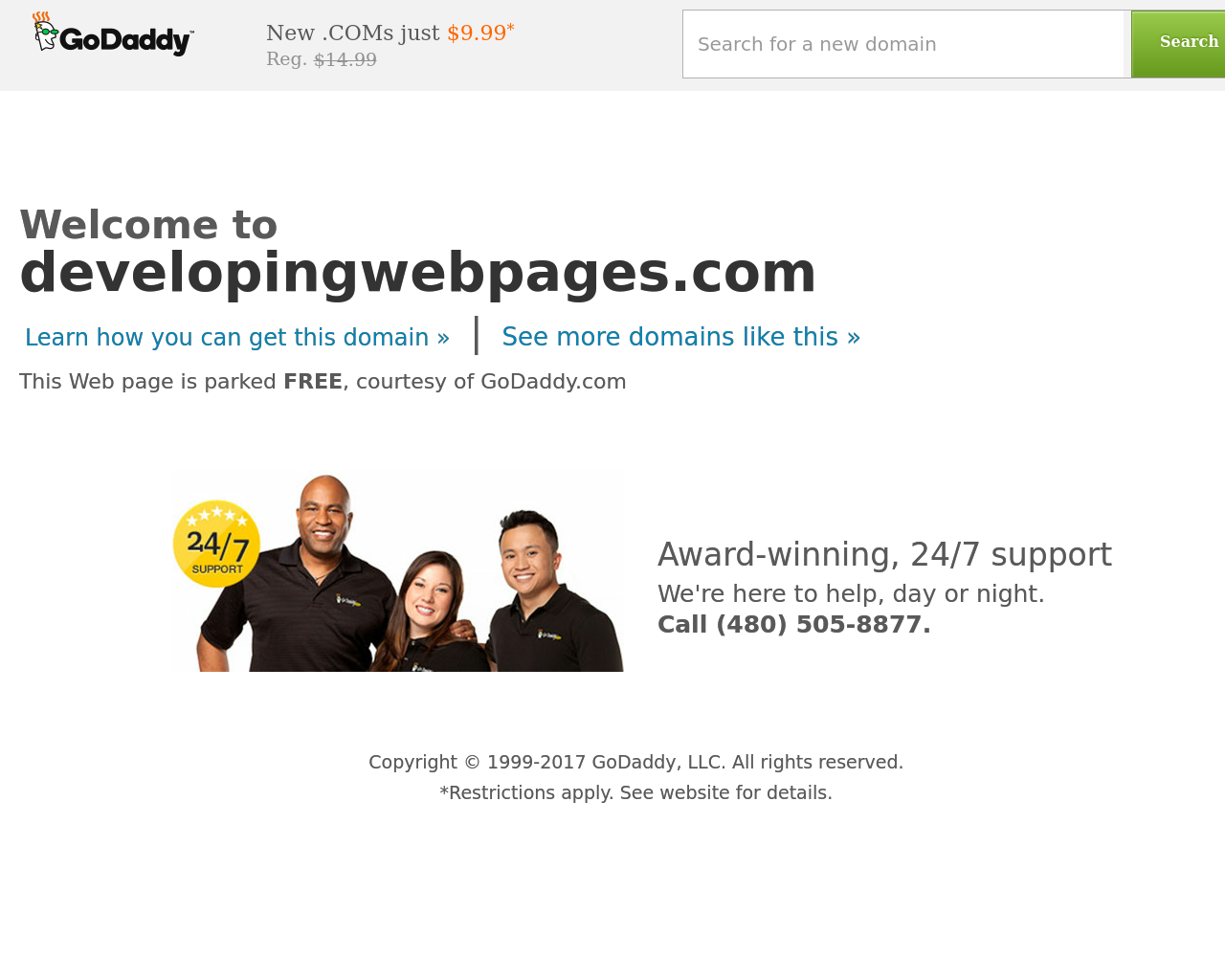DevelopingWebPages.com-Advertising-Reviews-Pricing