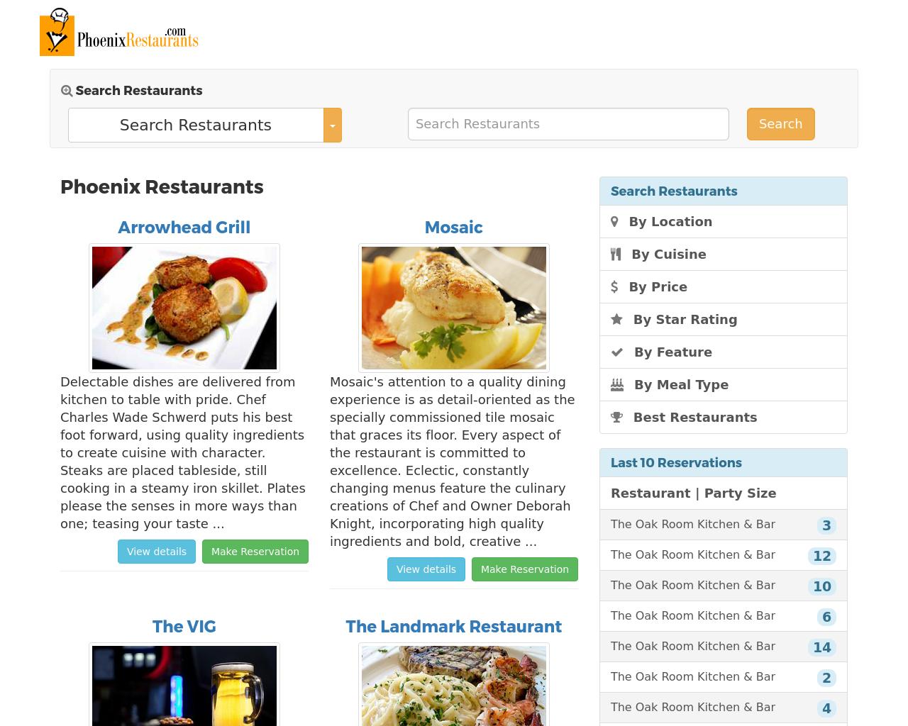 PhoenixRestaurants.com-Advertising-Reviews-Pricing