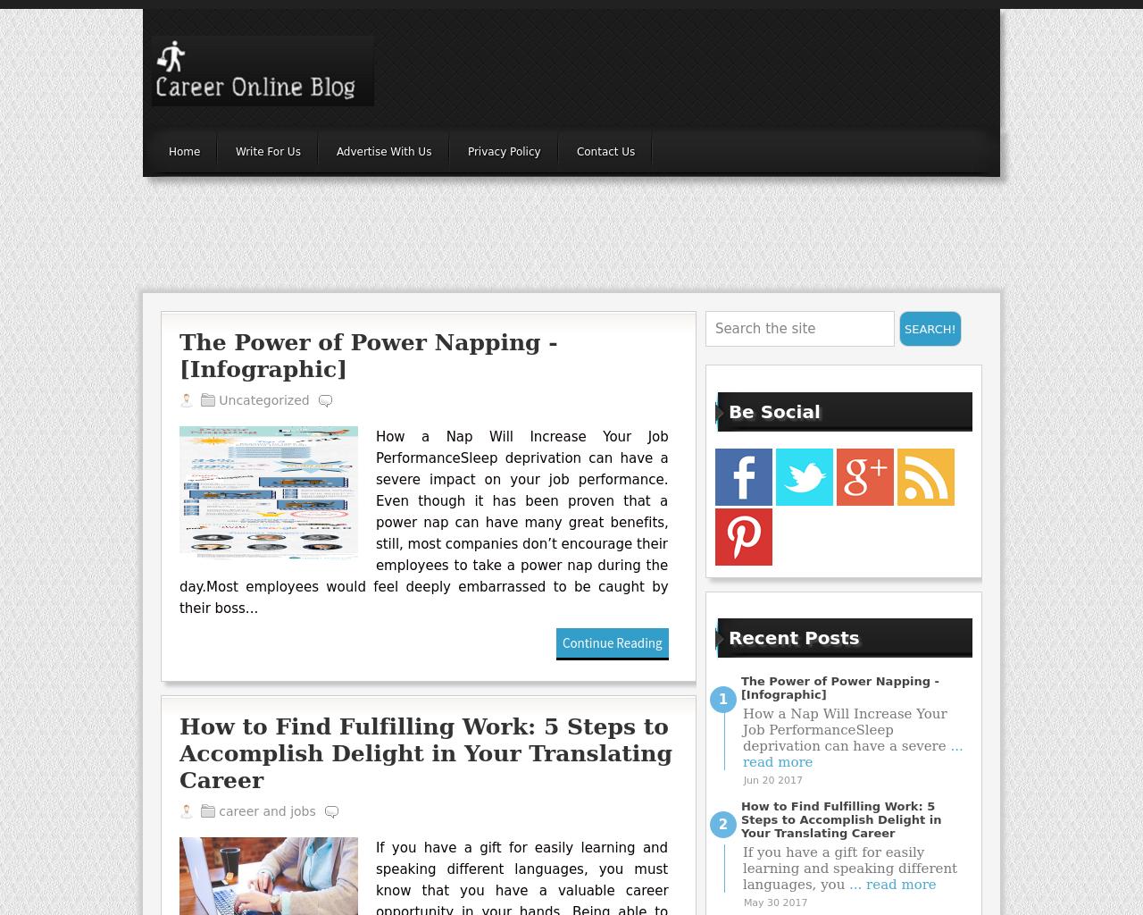 Career-Online-Blog-Advertising-Reviews-Pricing