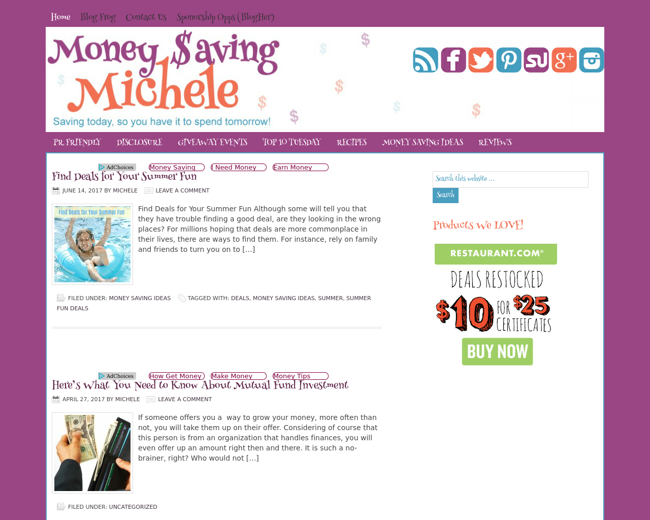 Money-$aving-Michele-Advertising-Reviews-Pricing