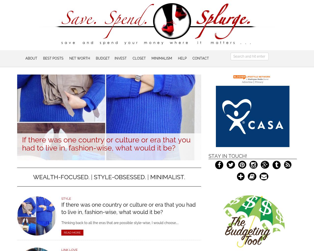 Save.-Spend.-Splurge.!-Advertising-Reviews-Pricing