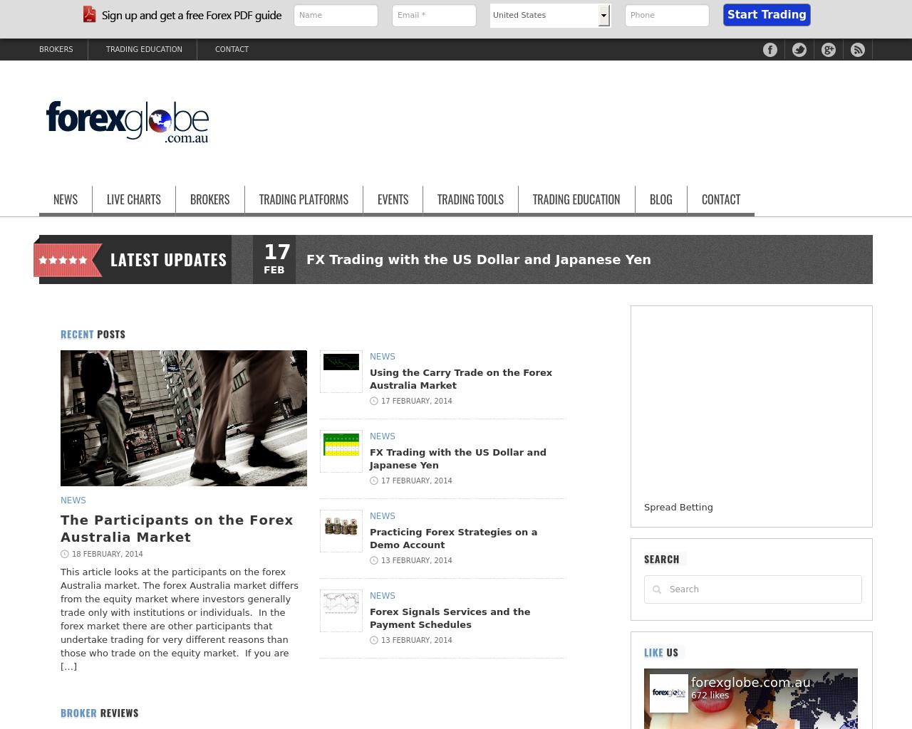 Forexglobe.com.au-Advertising-Reviews-Pricing