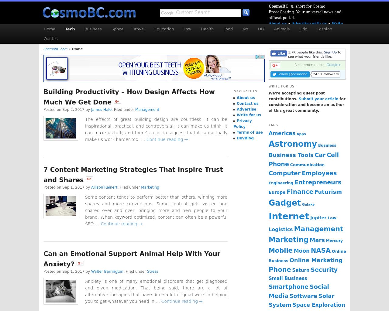 CosmoBC.com-Advertising-Reviews-Pricing