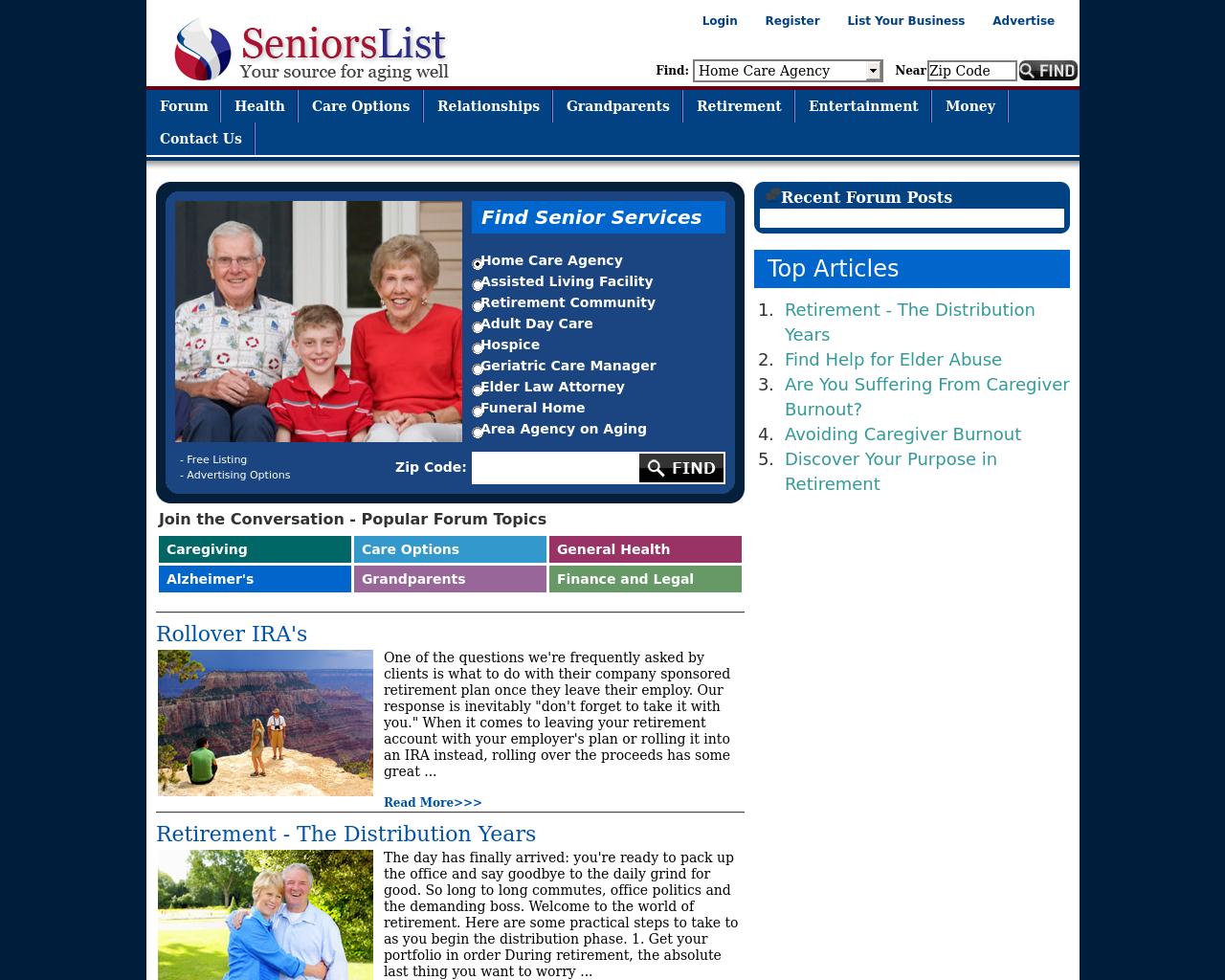 SeniorsList-Advertising-Reviews-Pricing