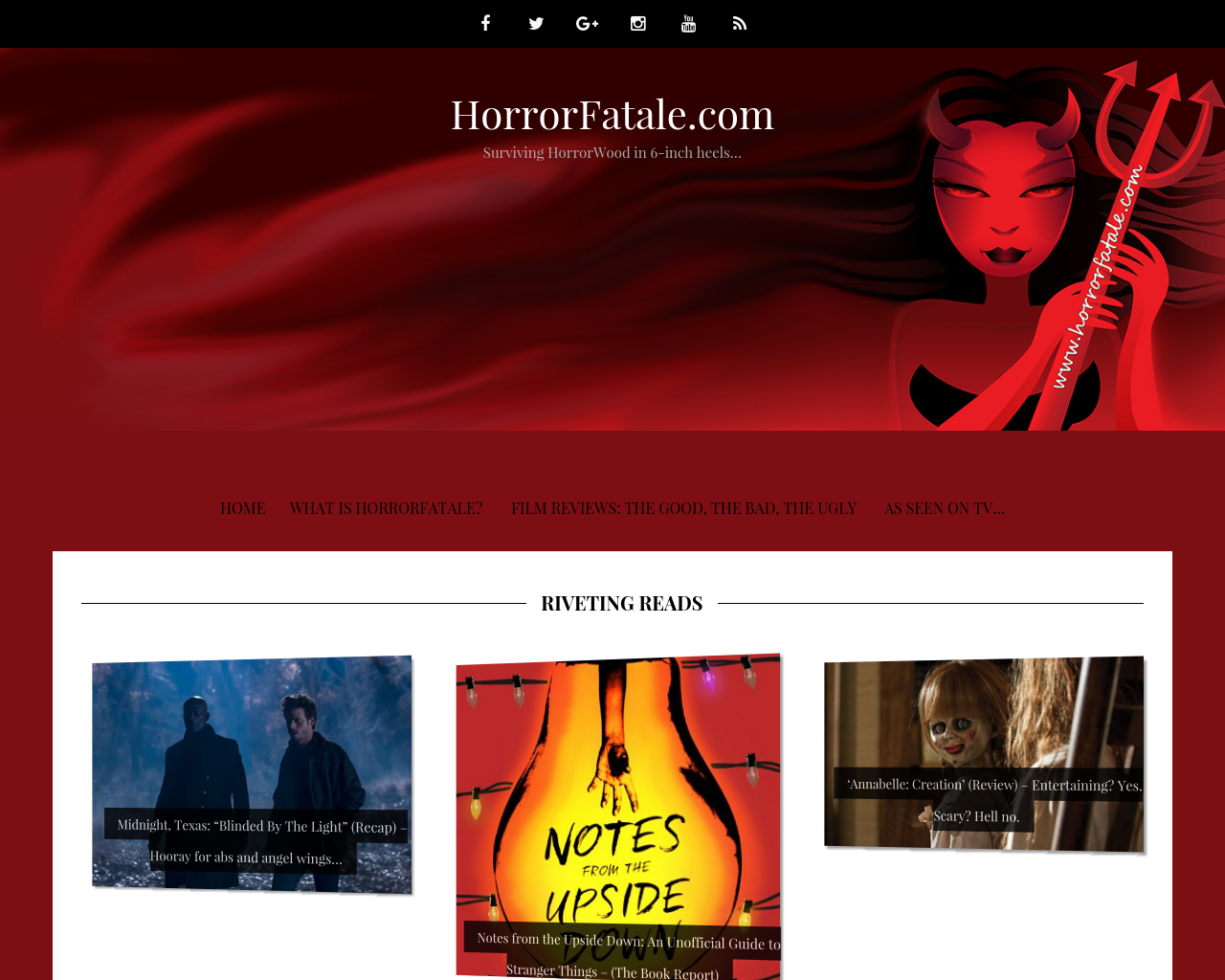 HorrorFatale.com-Advertising-Reviews-Pricing