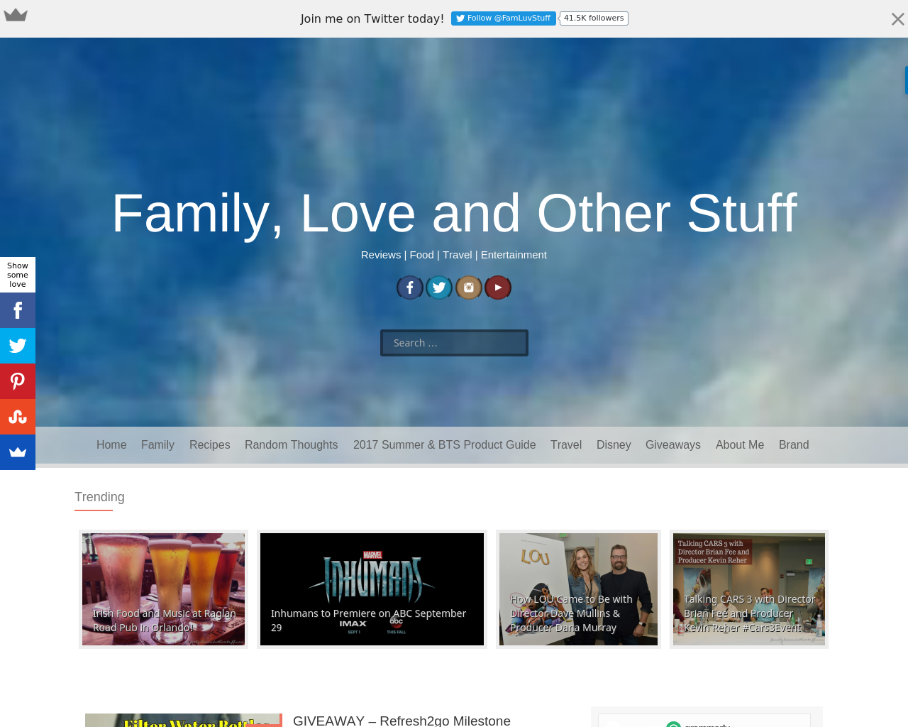 Family,-Love-and-Other-Stuff-Advertising-Reviews-Pricing