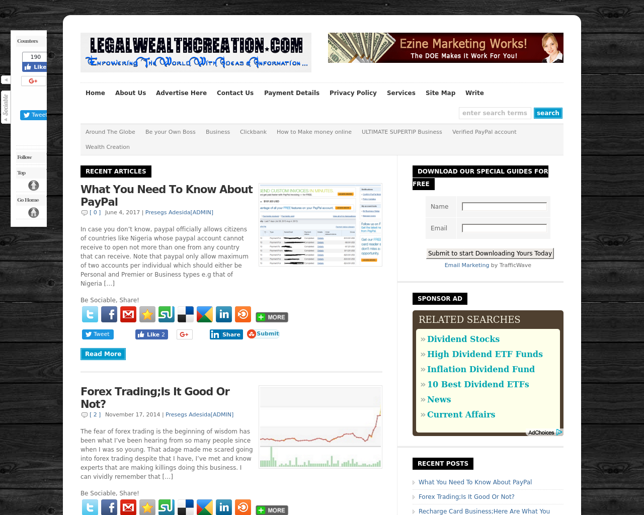 LegalWealthCreation.com-Advertising-Reviews-Pricing