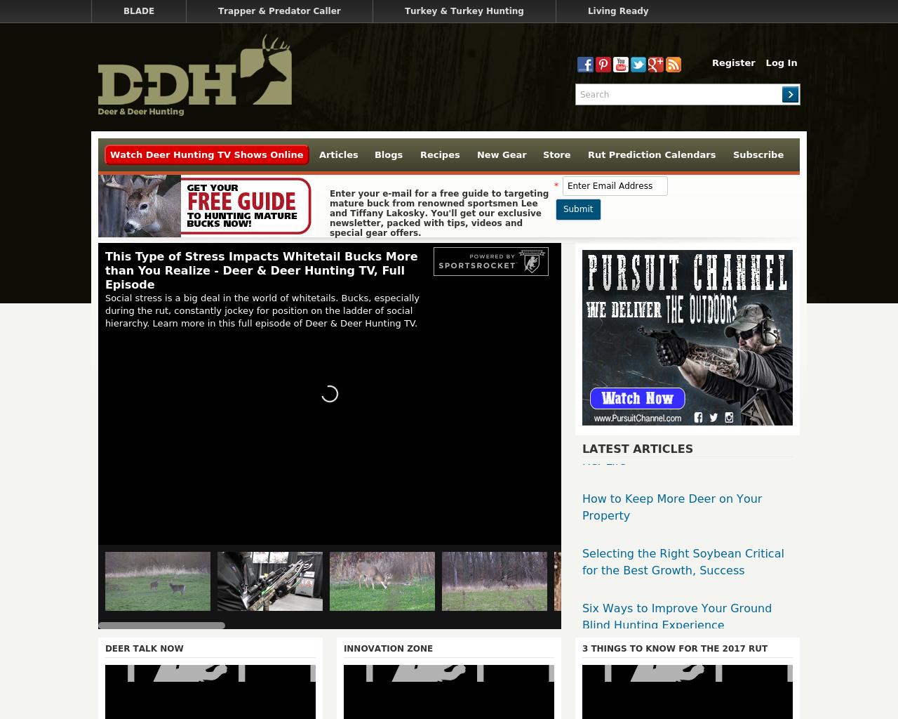 Deer-&-Deer-Hunting-Advertising-Reviews-Pricing