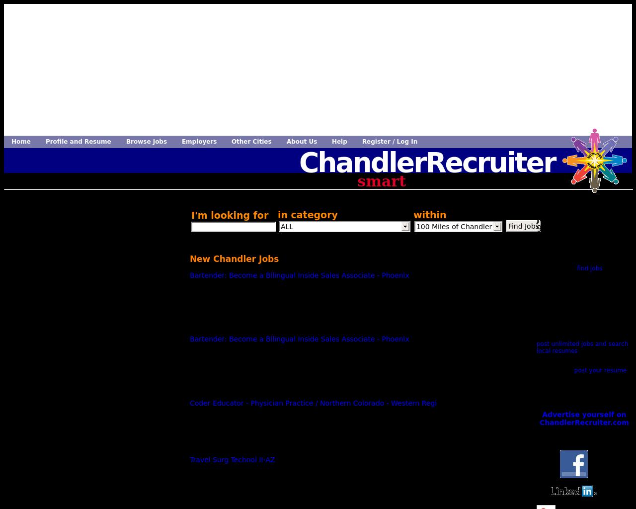 Chandlerrecruiter.com-Advertising-Reviews-Pricing