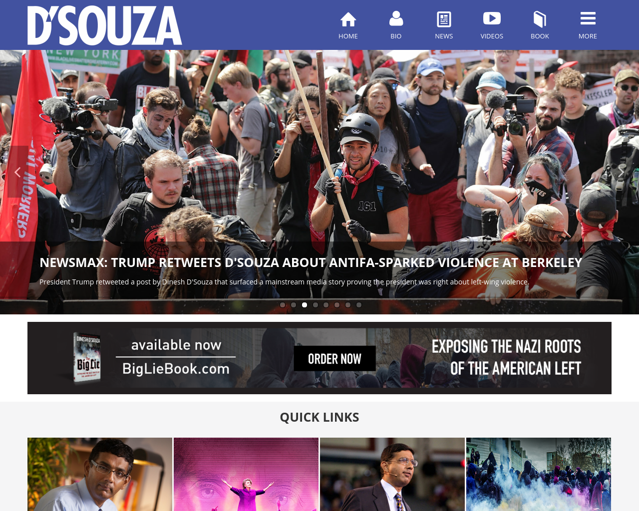 Dinesh-D'Souza-Advertising-Reviews-Pricing
