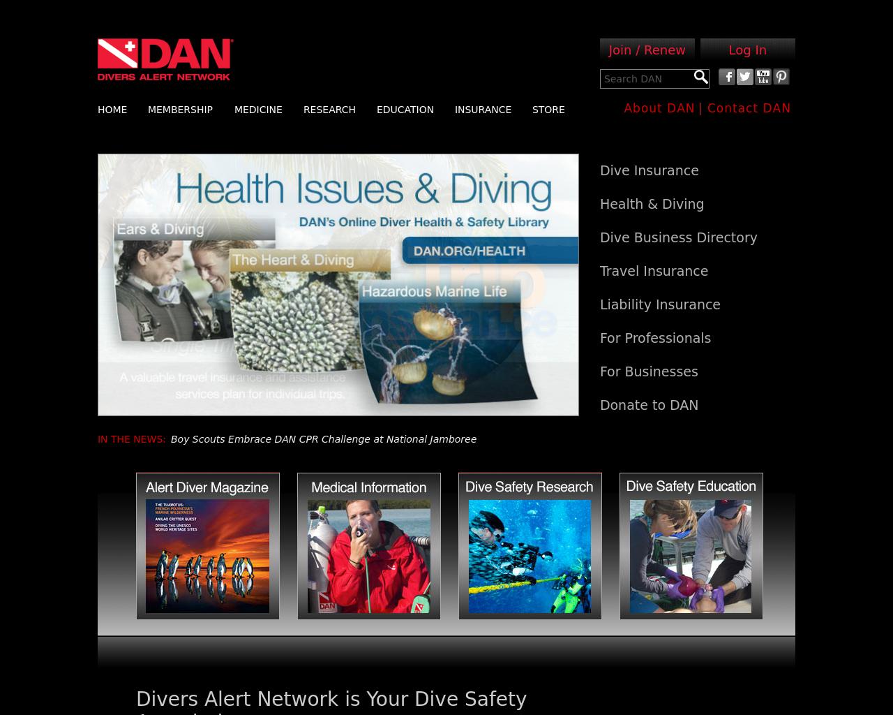 Divers-Alert-Network-(DAN)-Advertising-Reviews-Pricing