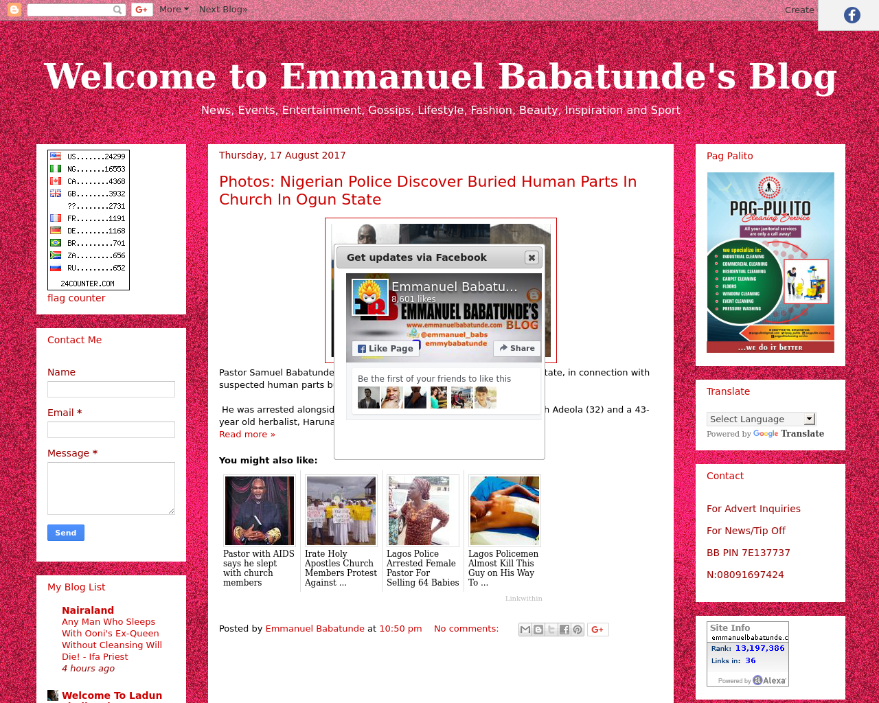 Welcome-to-Emmanuel-Babatunde's-Blog-Advertising-Reviews-Pricing