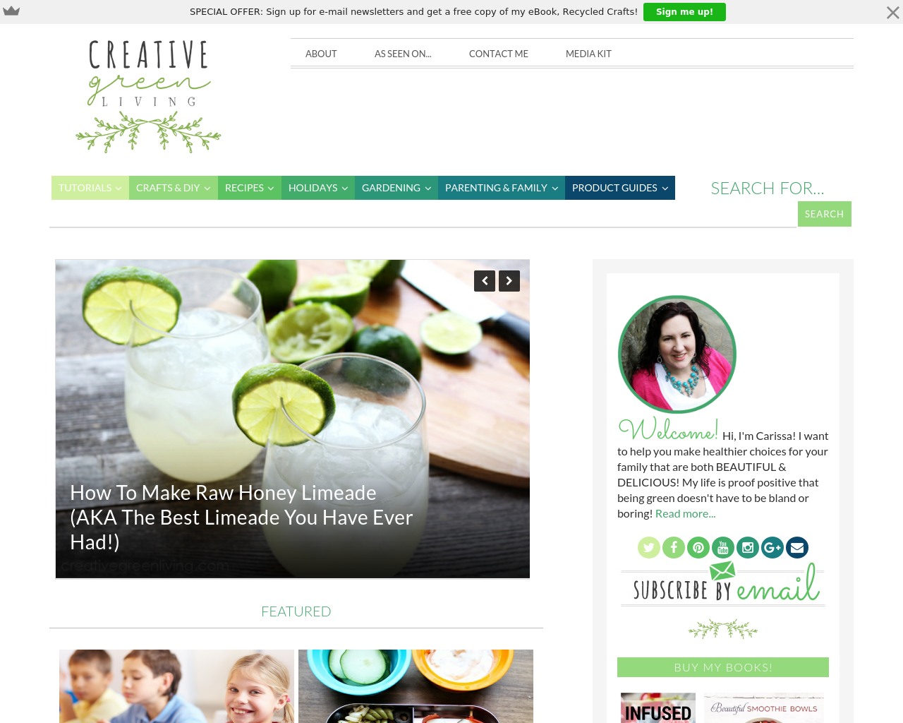 Creativegreenliving-Advertising-Reviews-Pricing