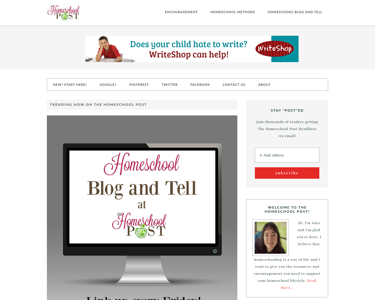 The-Homeschool-Post-Advertising-Reviews-Pricing