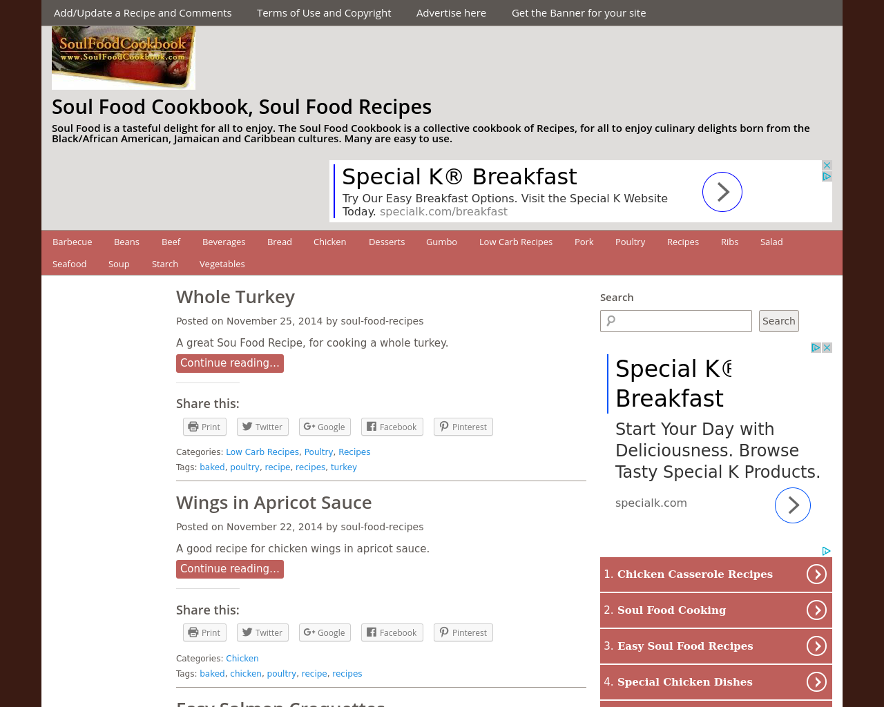 Soulfoodcookbook-Advertising-Reviews-Pricing