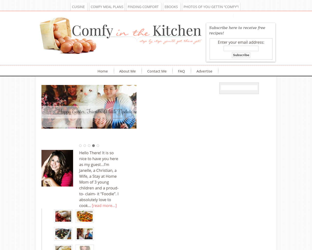 Comfyinthekitchen.com-Advertising-Reviews-Pricing