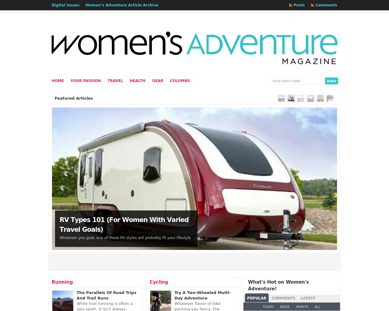 Women's-Adventure-Magazine-Advertising-Reviews-Pricing