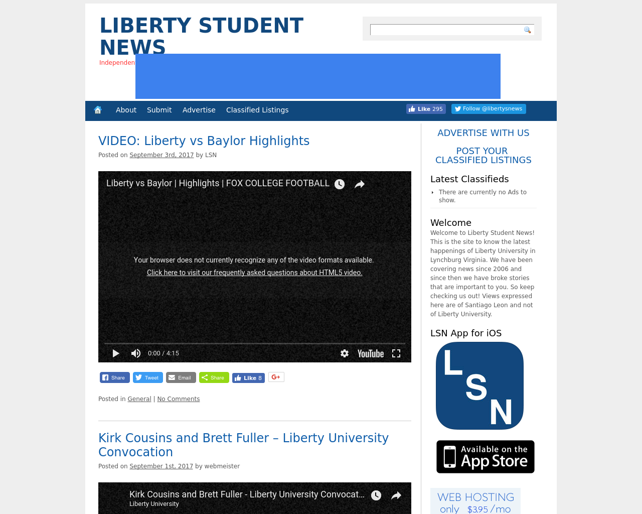 Liberty-Student-News-Advertising-Reviews-Pricing
