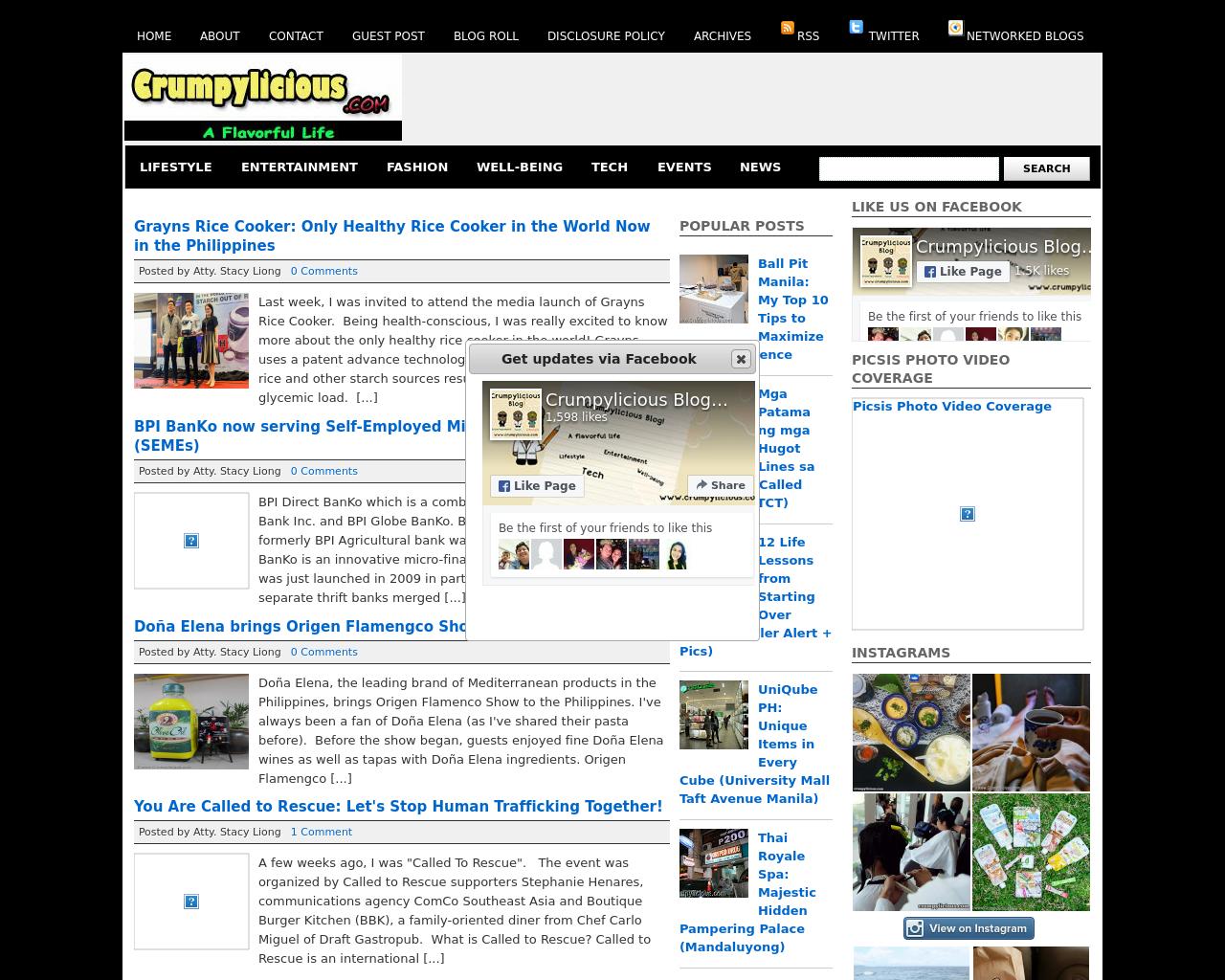 Crumpylicious.com-Advertising-Reviews-Pricing