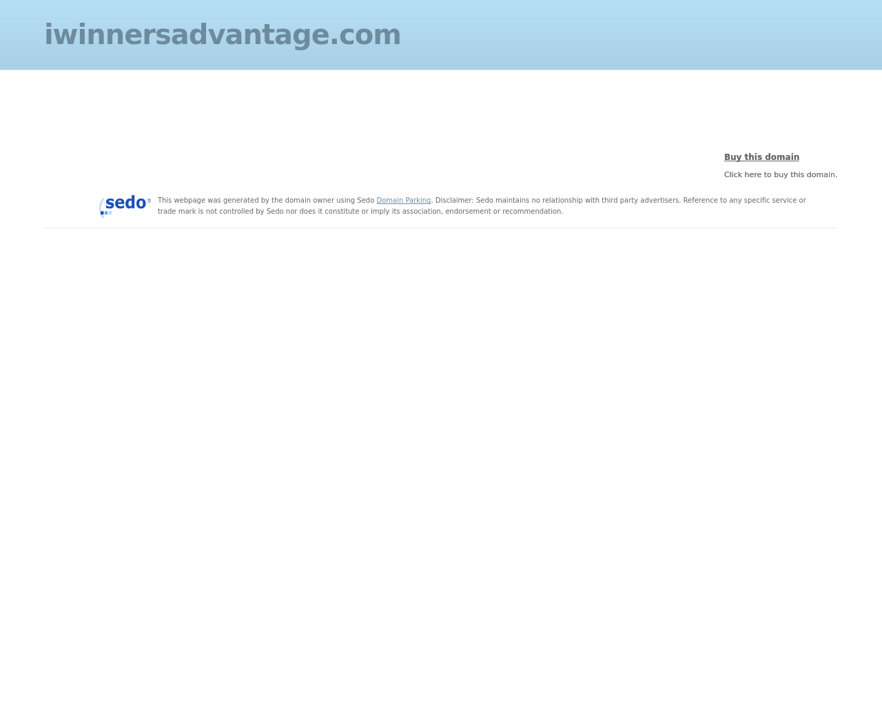 IWinnersAdvantage-Advertising-Reviews-Pricing