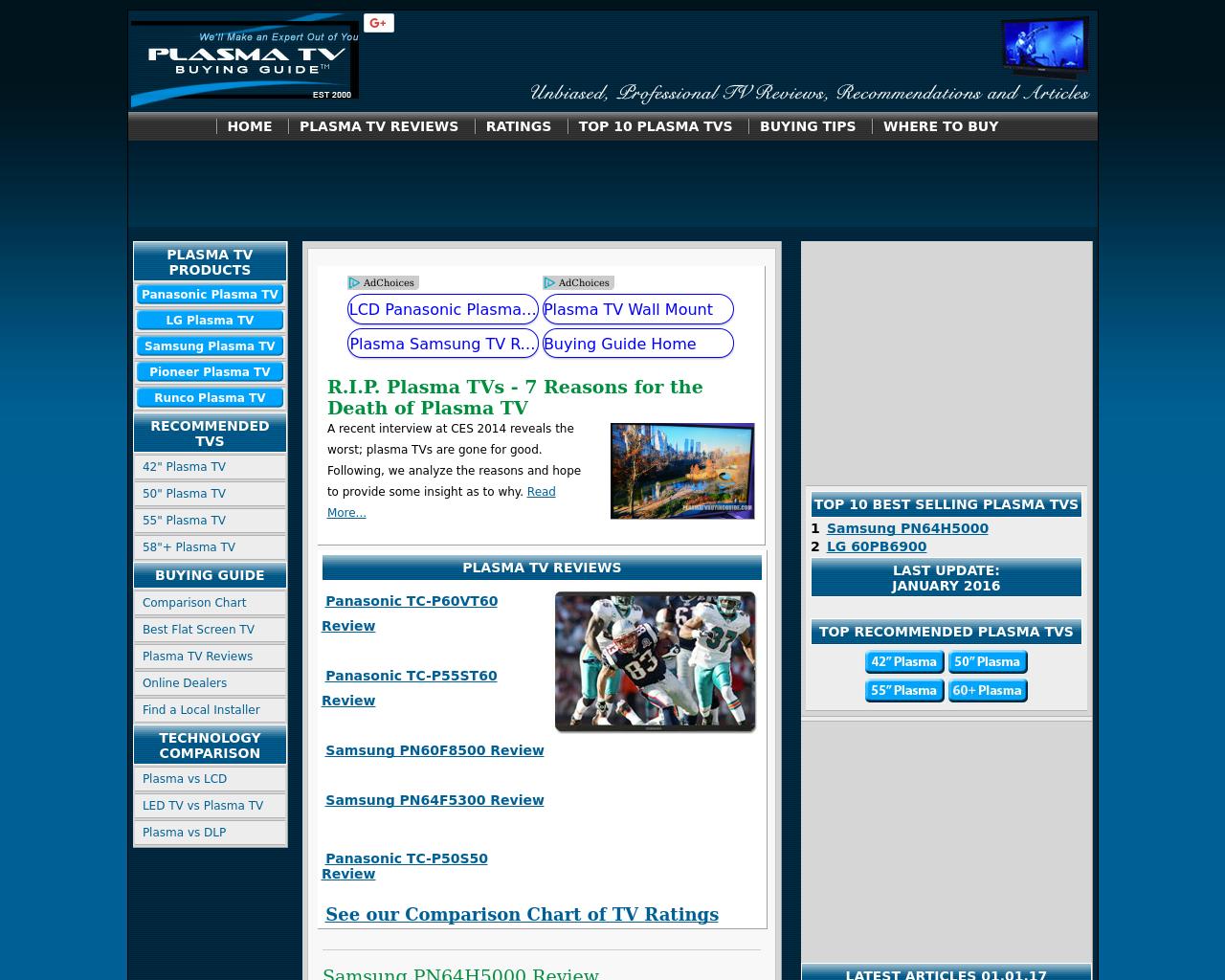 Plasma-TV-Buying-Guide-Advertising-Reviews-Pricing