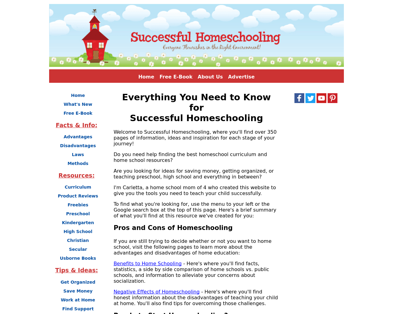 Successful-homeschooling-Advertising-Reviews-Pricing