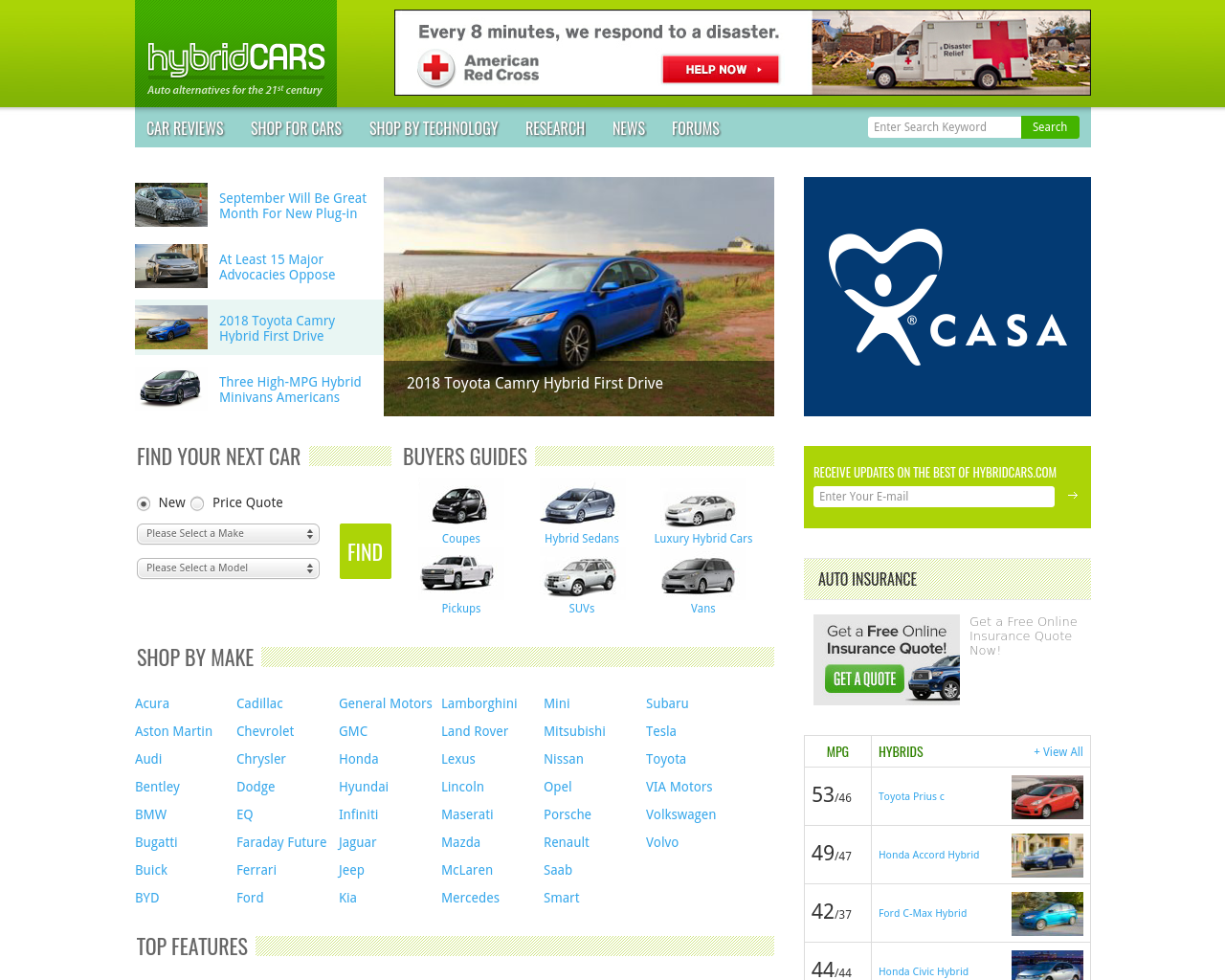 hybridCars-Advertising-Reviews-Pricing