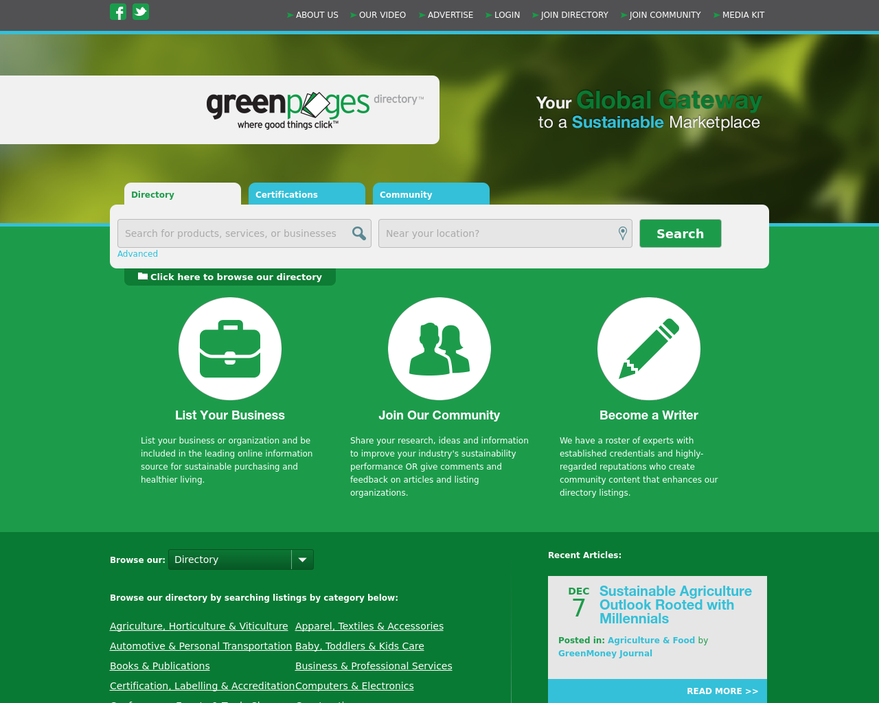 Green-Pages-Directory-Advertising-Reviews-Pricing