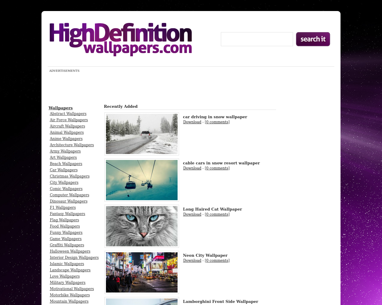 High-Definition-Wallpapers-Advertising-Reviews-Pricing