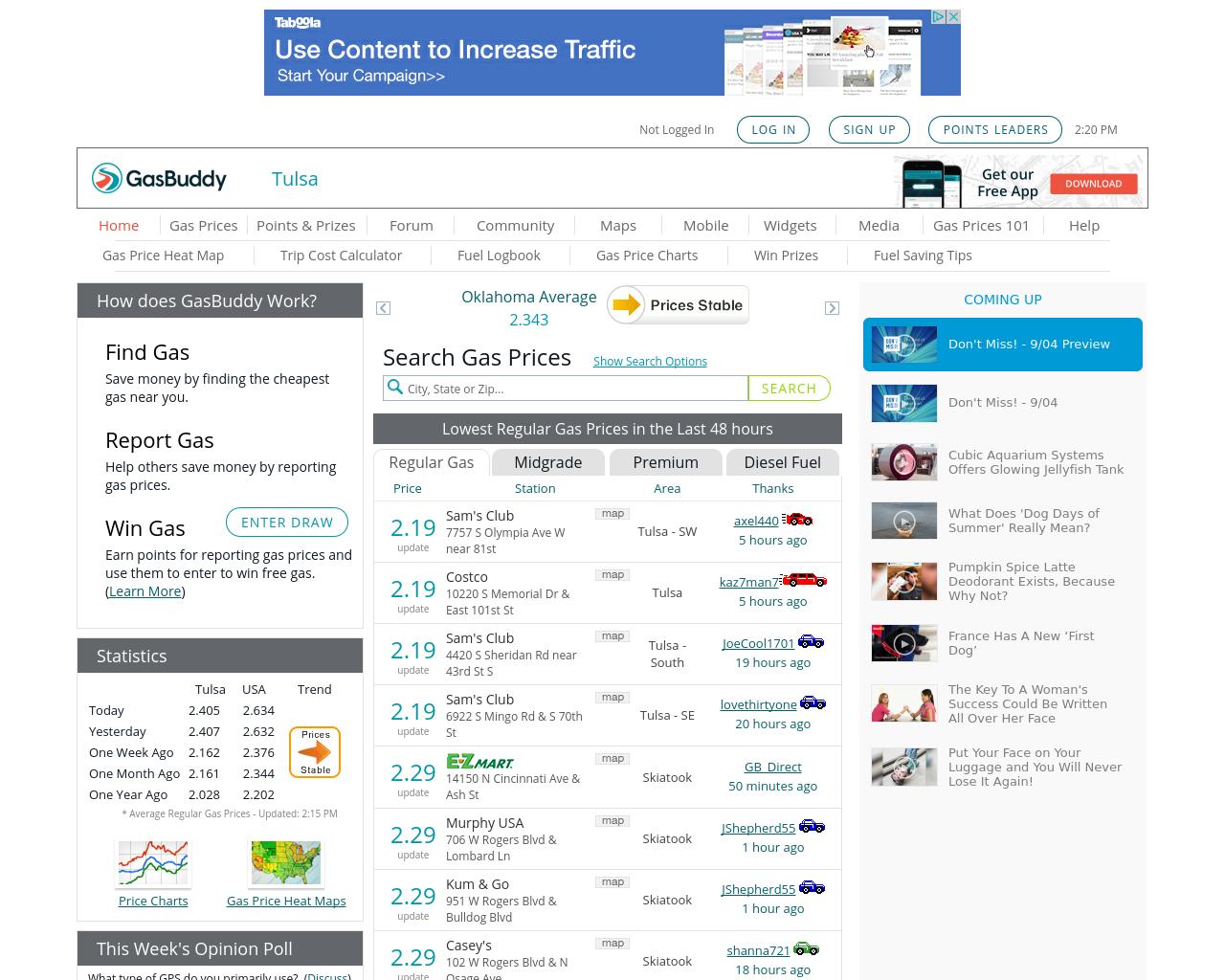 Tulsa-Gas-Prices-Advertising-Reviews-Pricing