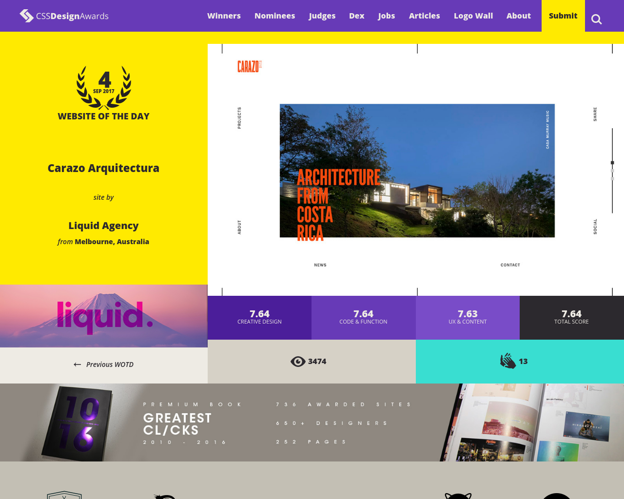 CSS-Design-Awards-Advertising-Reviews-Pricing