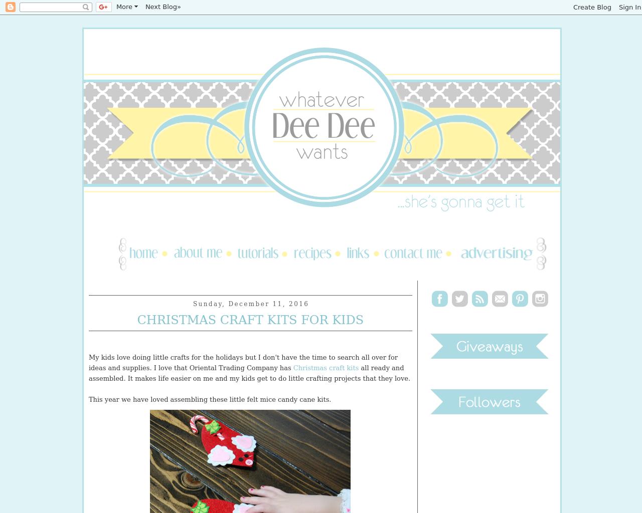 Whatever-Dee-Dee-wants-Advertising-Reviews-Pricing