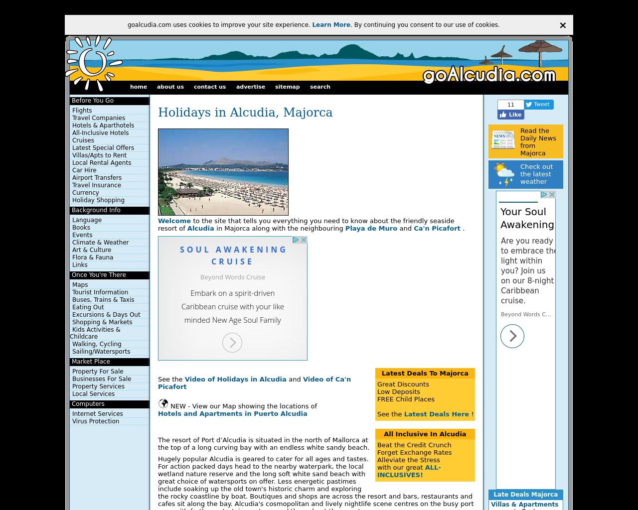 GoAlcudia.com-Advertising-Reviews-Pricing