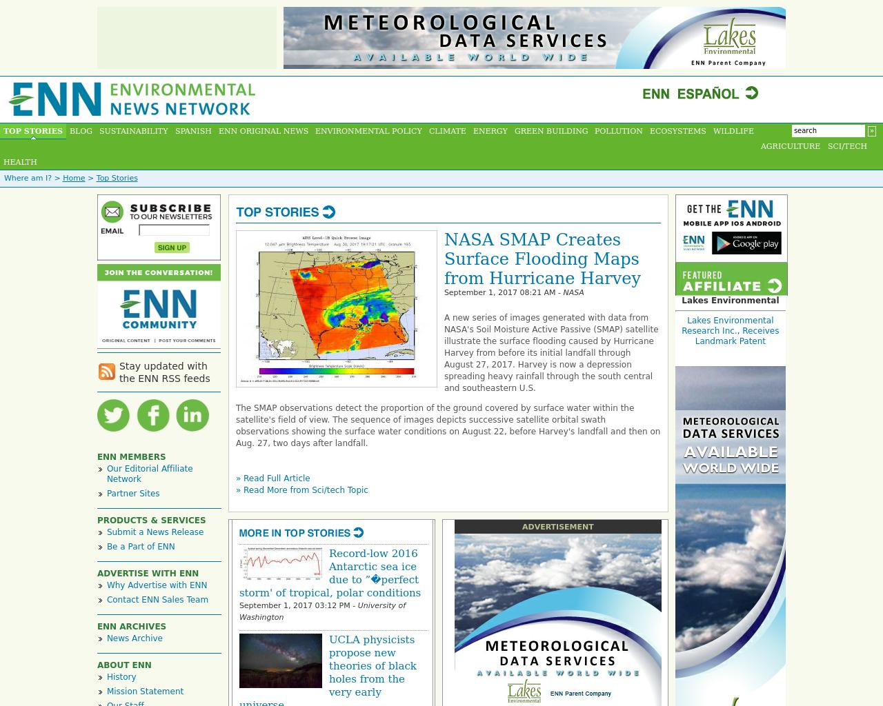 Environmental-News-Network-Advertising-Reviews-Pricing