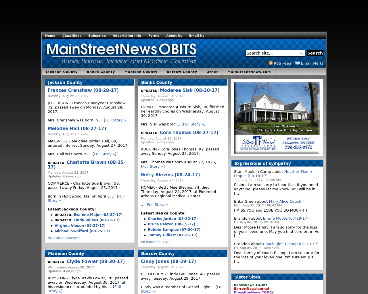 MainStreetNewsOBITS-Advertising-Reviews-Pricing