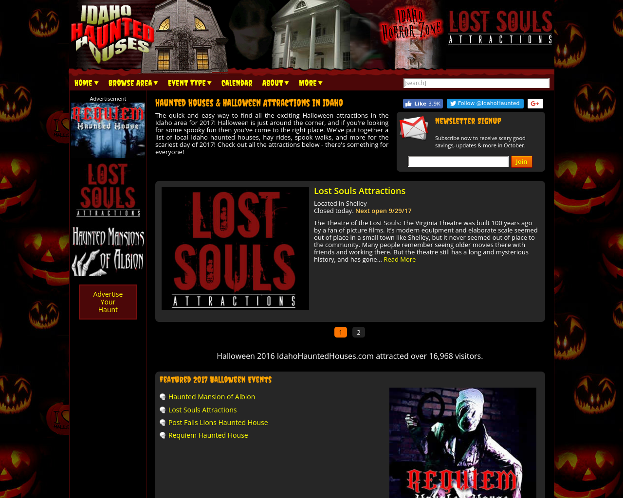 Idahohauntedhouses.com-Advertising-Reviews-Pricing