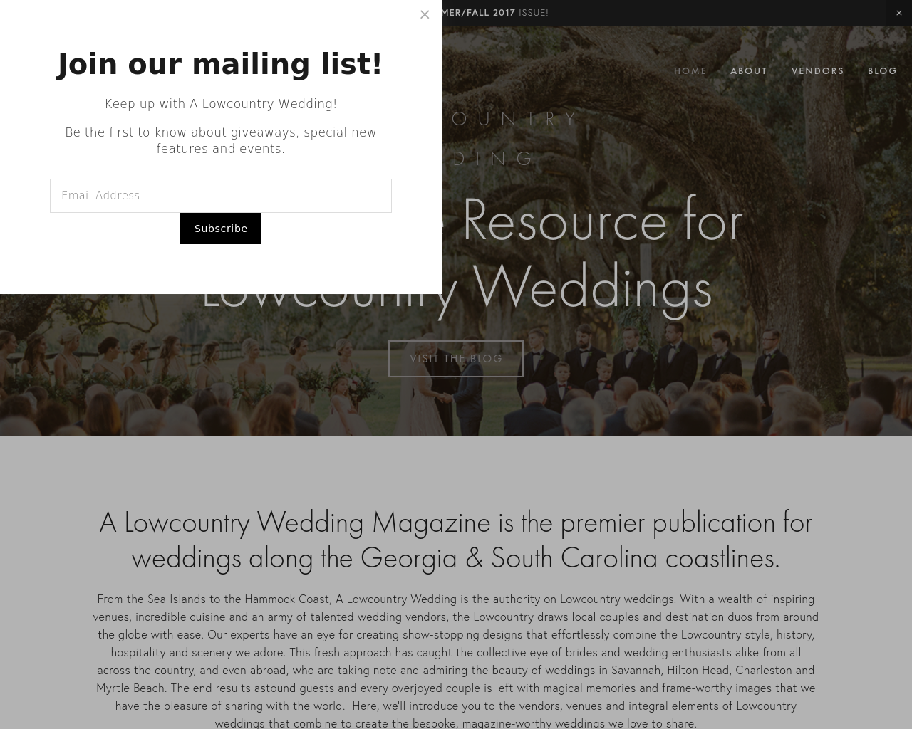 A-LOWCOUNTRY-WEDDING-Advertising-Reviews-Pricing