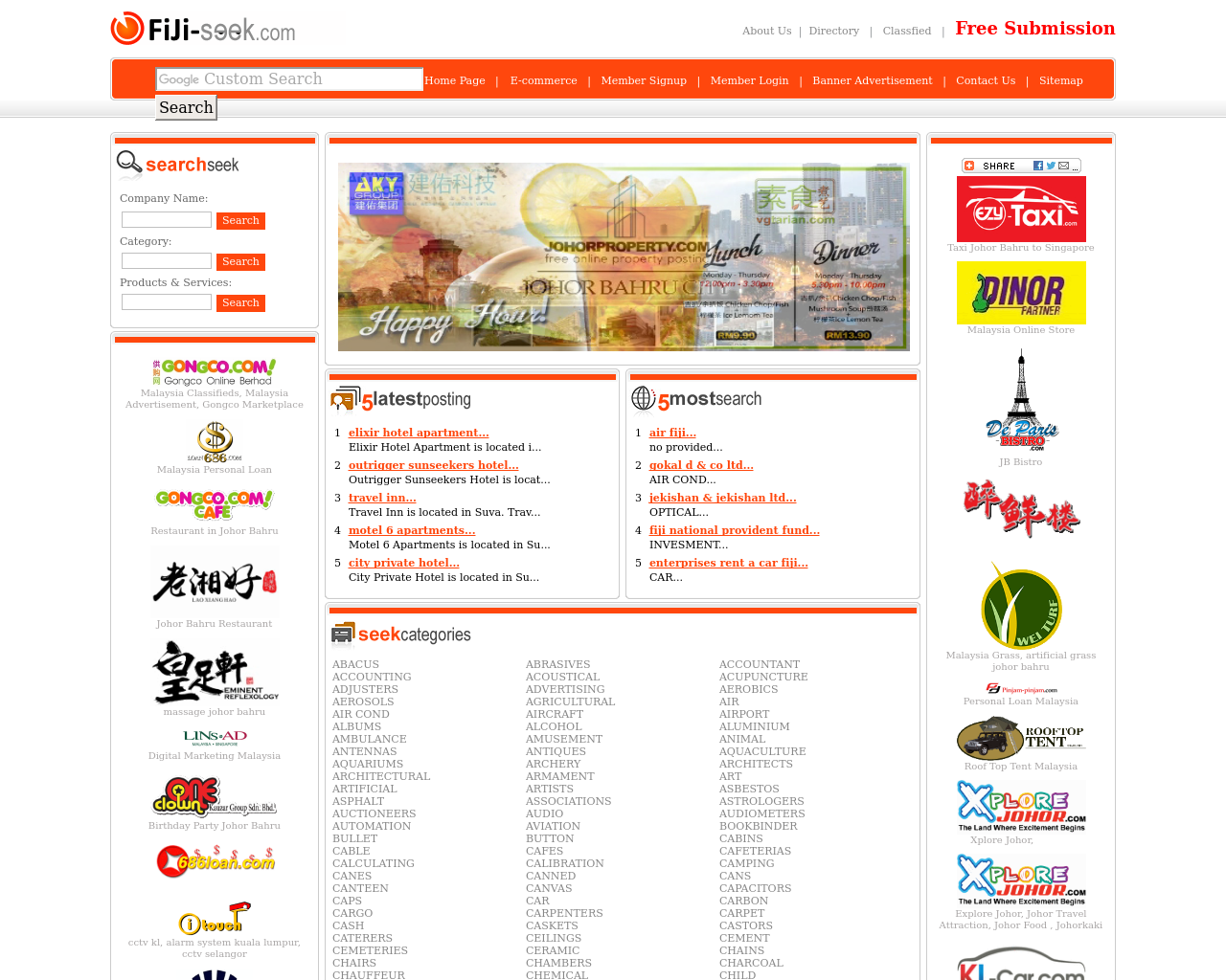 Fijiseek.com-Advertising-Reviews-Pricing