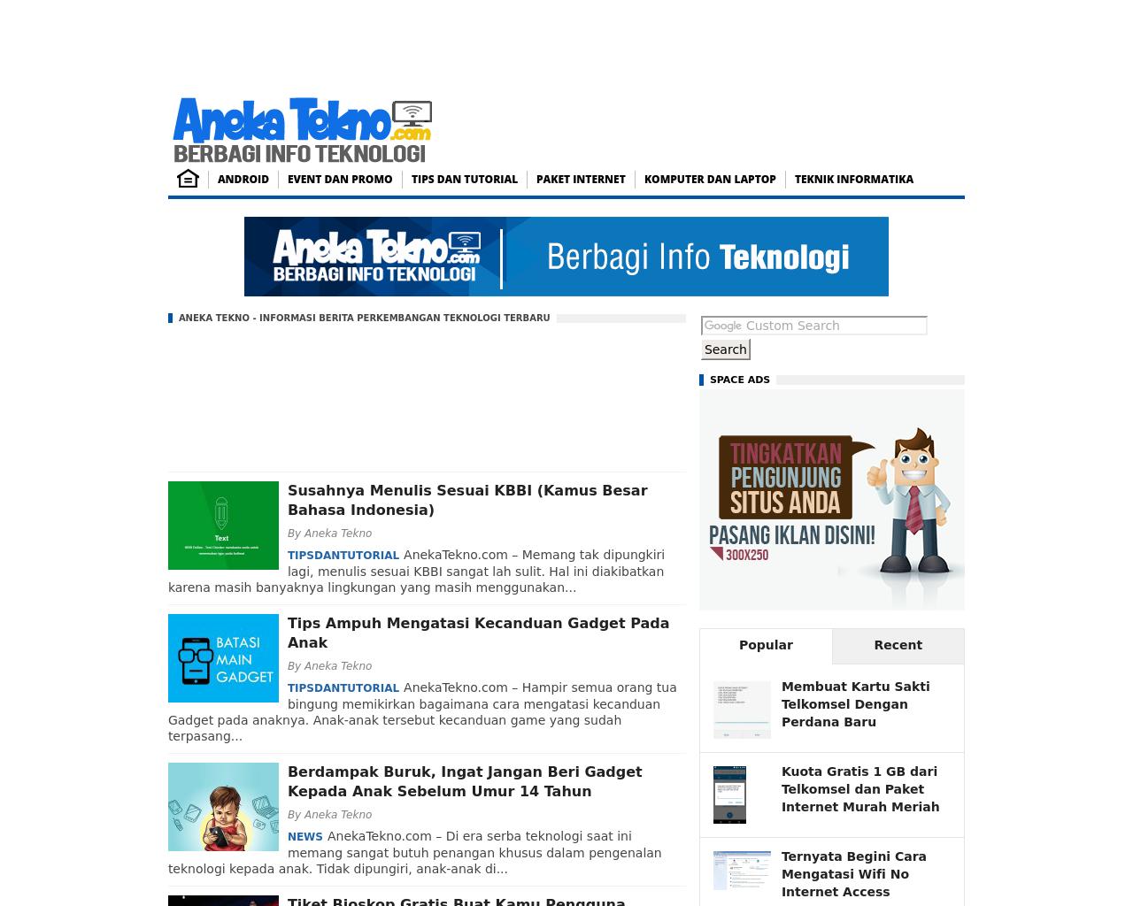 AnekaTekno.com-Advertising-Reviews-Pricing