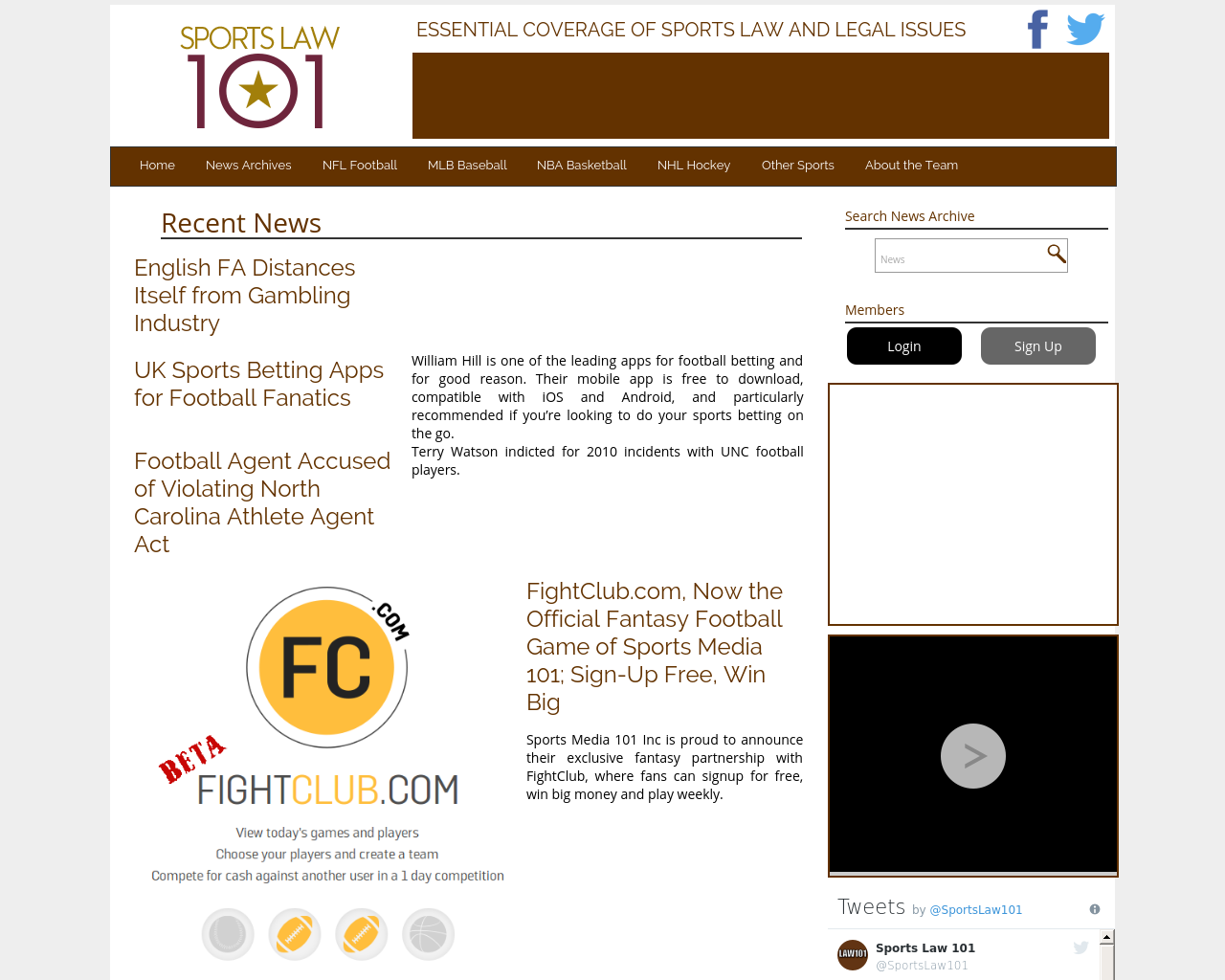 Sports-Law-101-Advertising-Reviews-Pricing