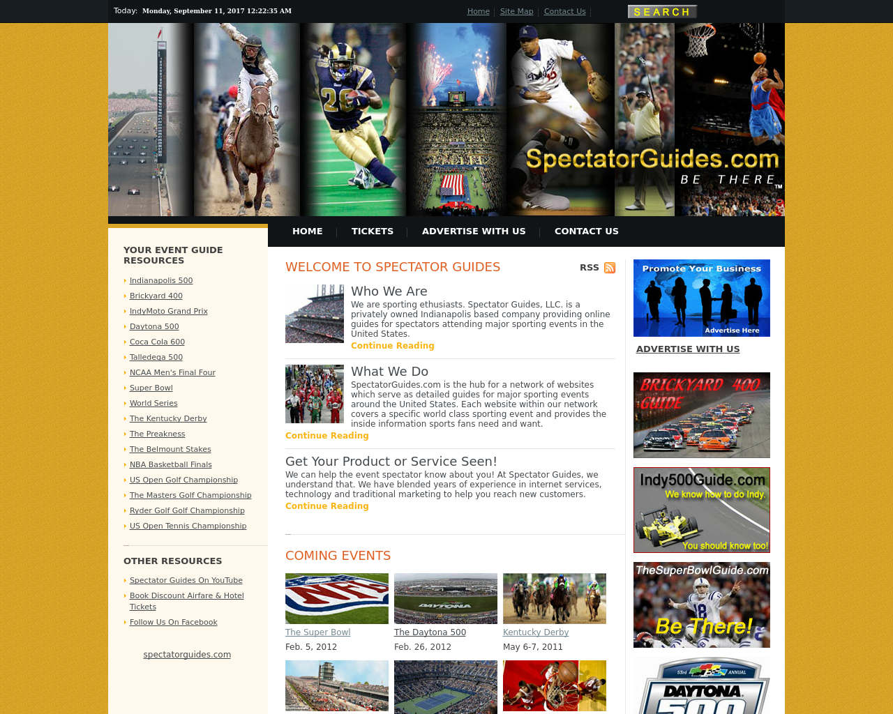Spectator-Guides-Advertising-Reviews-Pricing