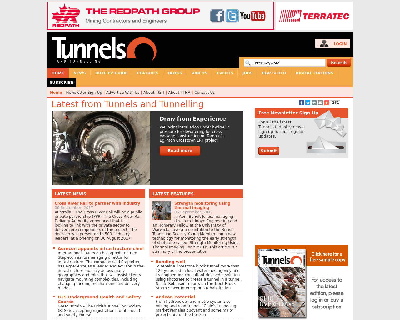 Tunnels-&-Tunnelling-Advertising-Reviews-Pricing