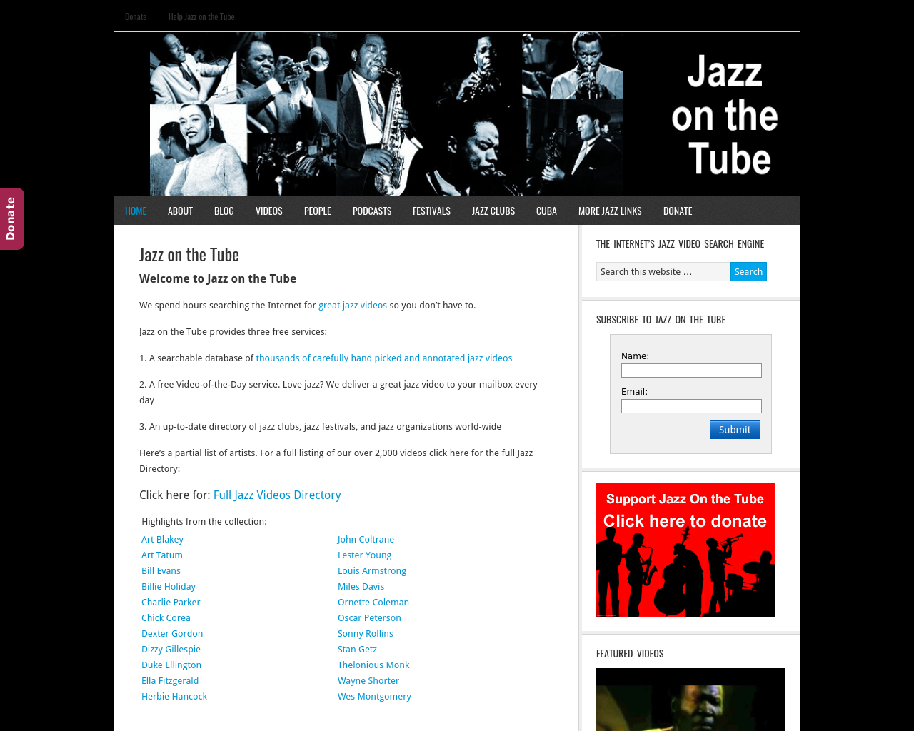 Jazz-On-The-Tube-Advertising-Reviews-Pricing