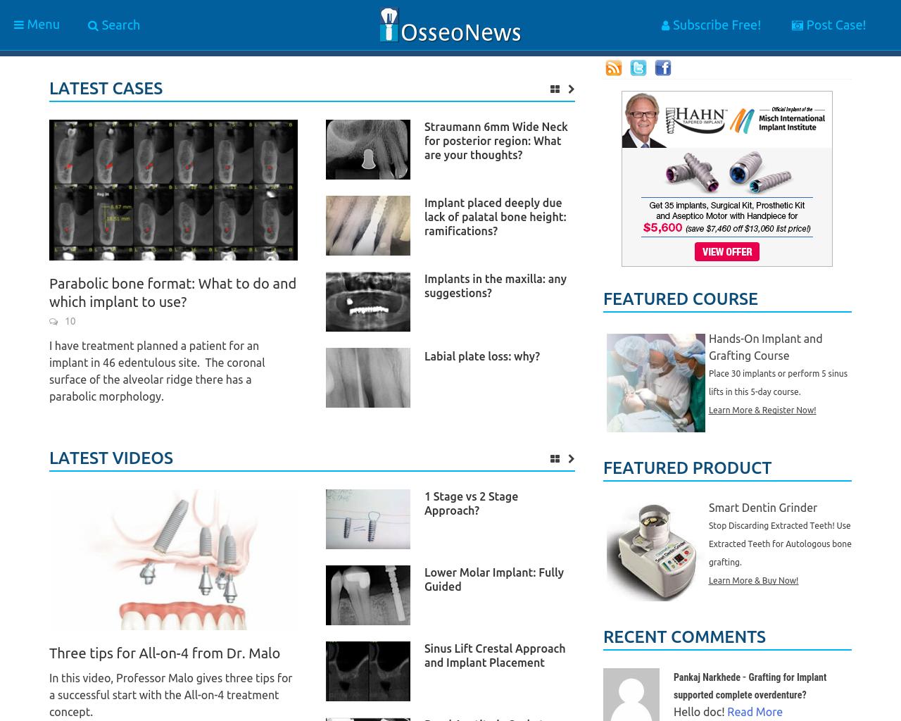 osseonews.com-Advertising-Reviews-Pricing