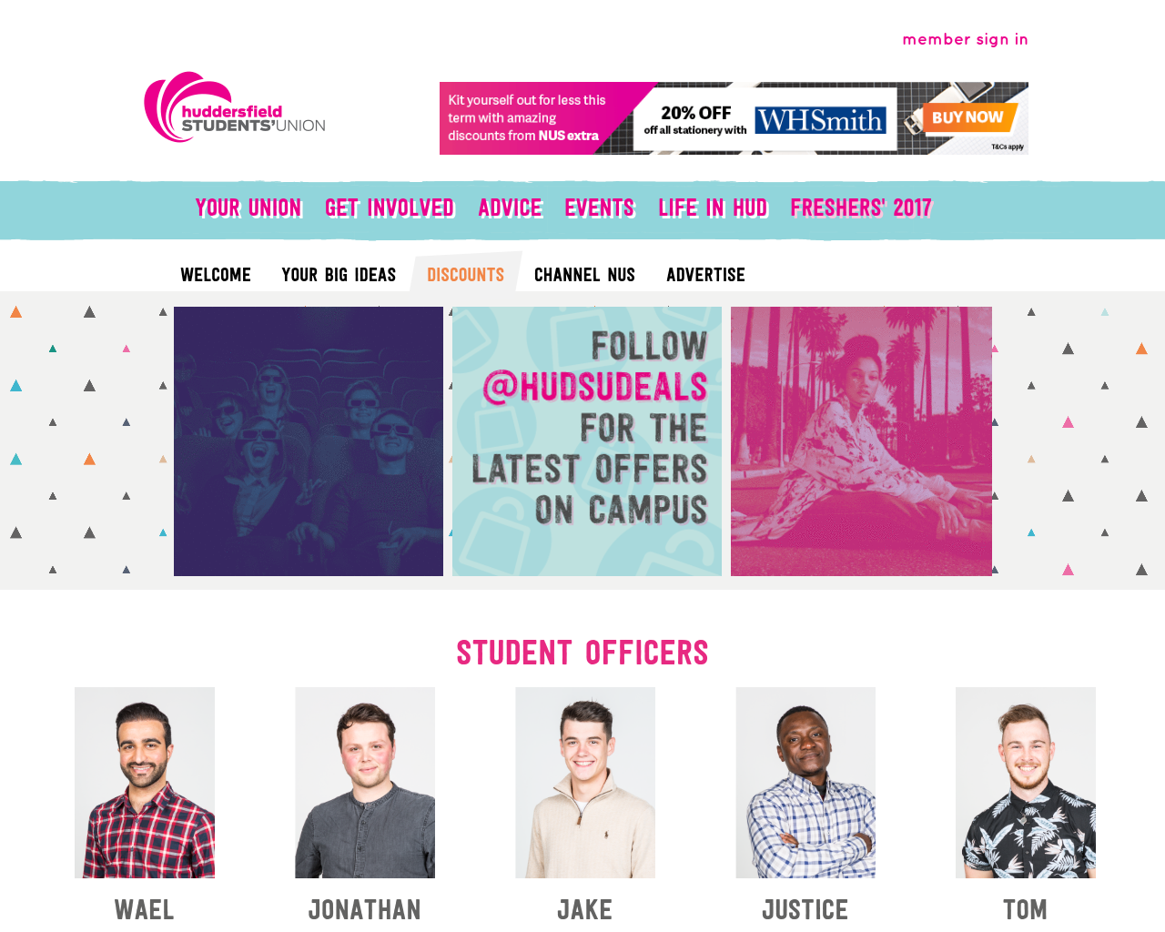 Huddersfield-Student's-Union-Advertising-Reviews-Pricing