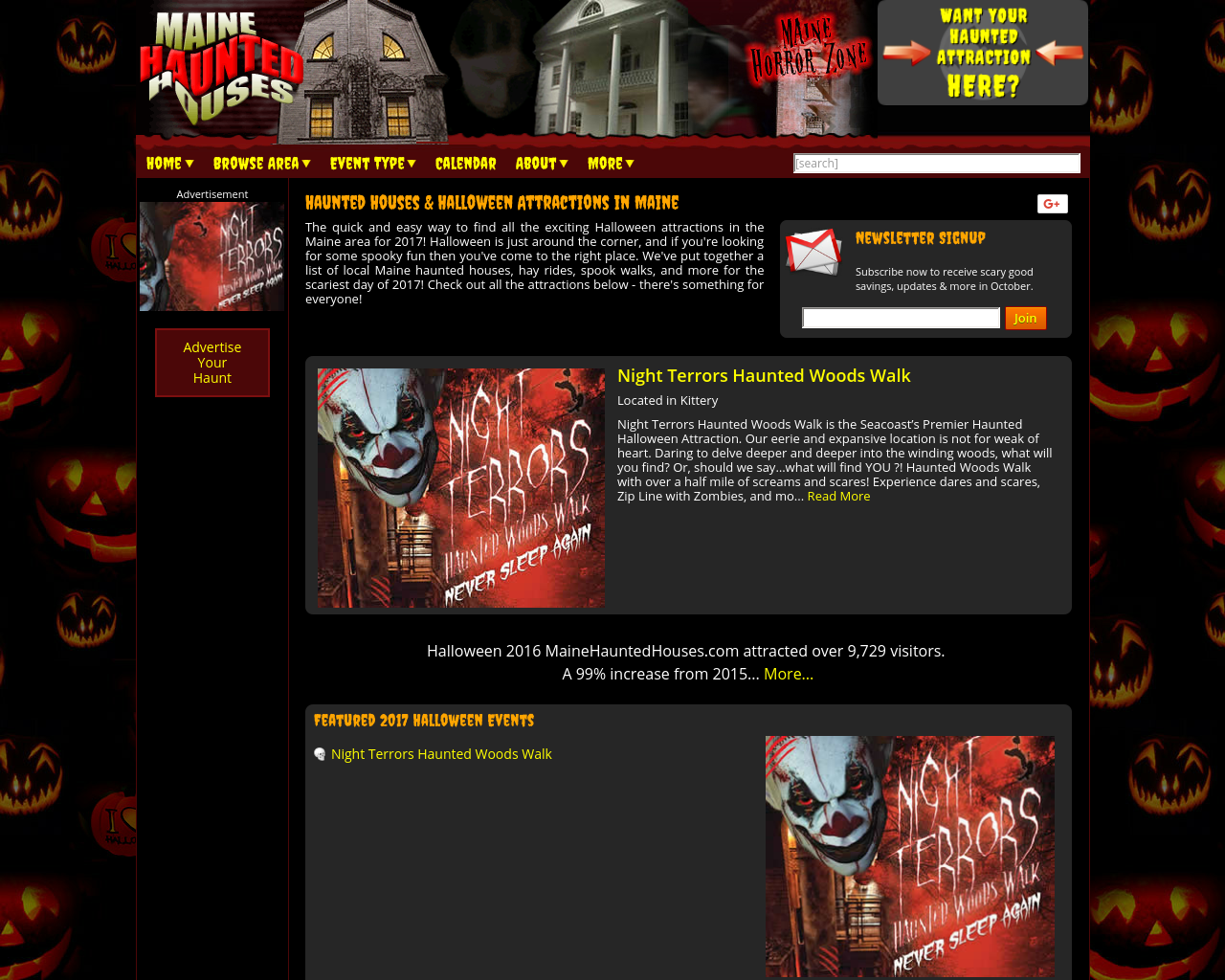 Maine-Haunted-Houses-Advertising-Reviews-Pricing