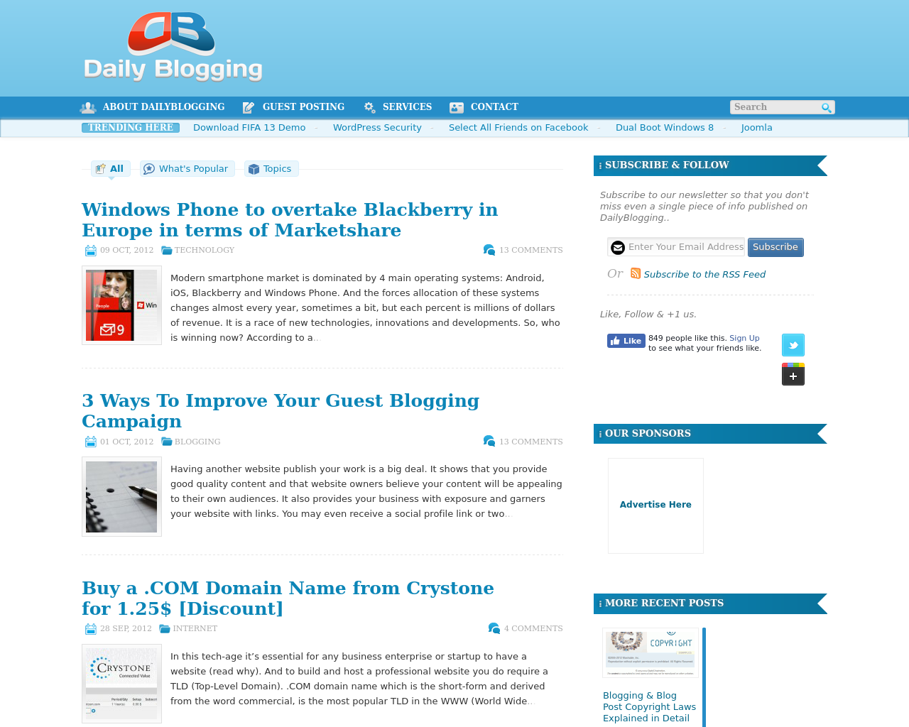 Daily-Blogging-Advertising-Reviews-Pricing