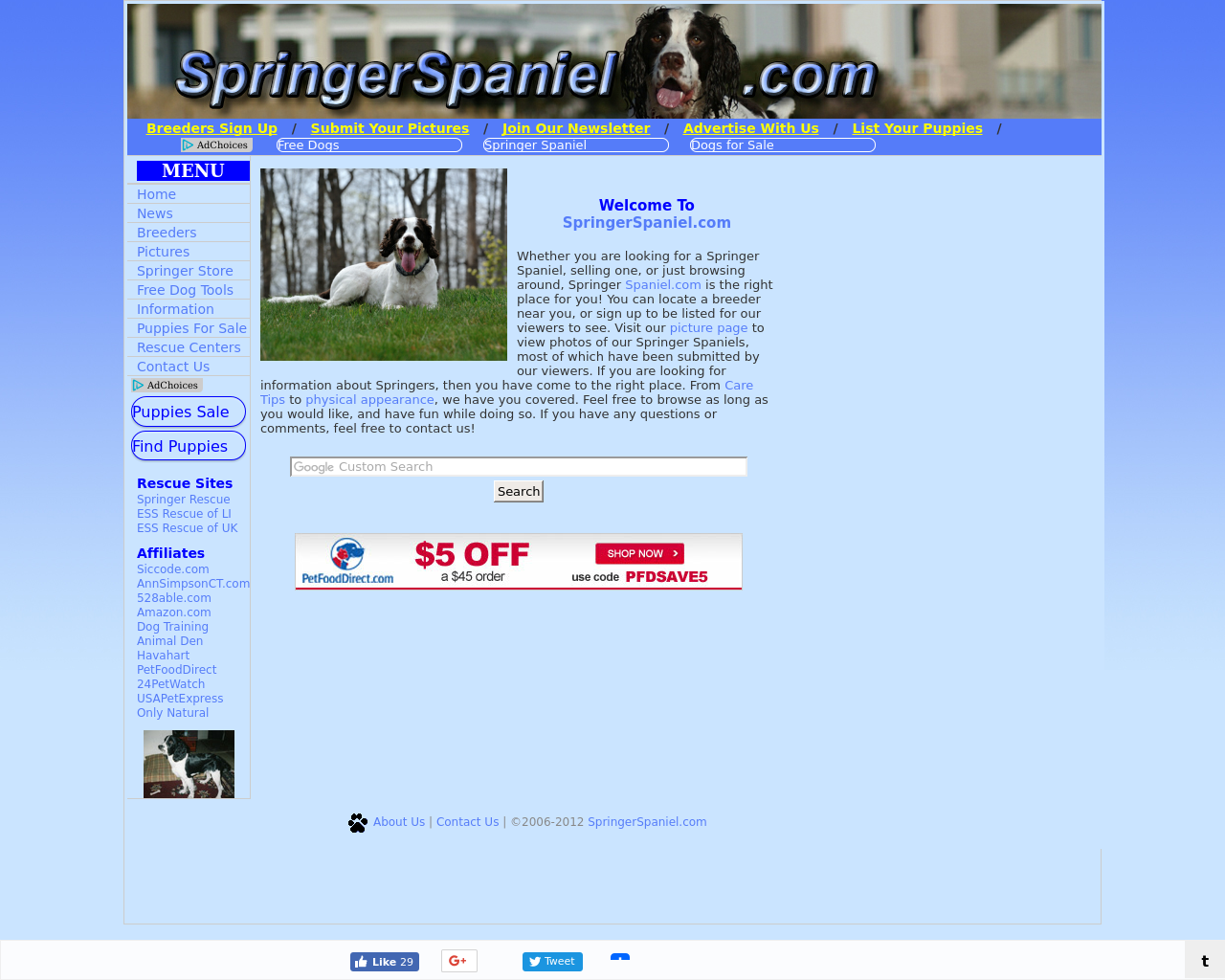 Springer-Spaniel-Advertising-Reviews-Pricing