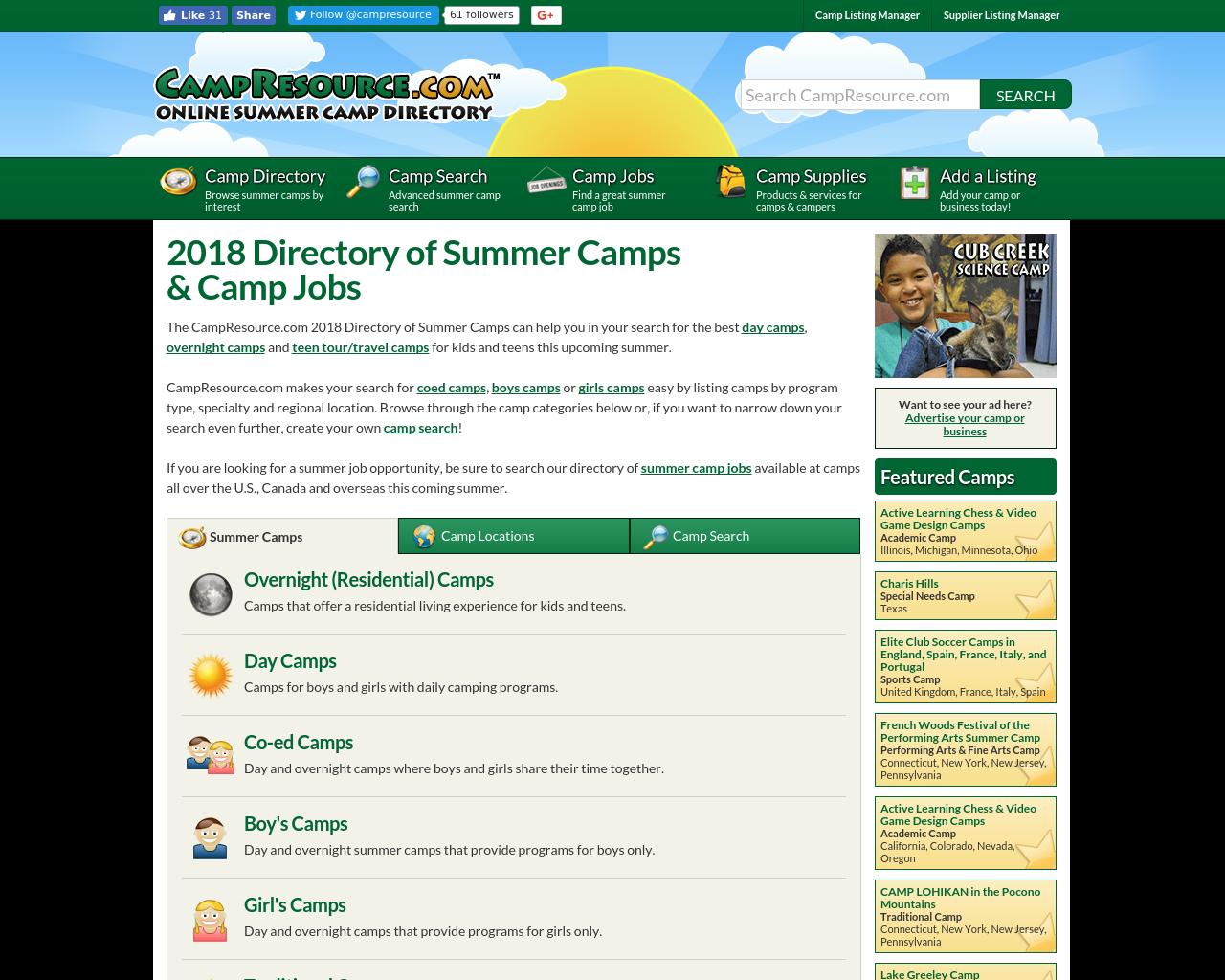 CAMPRESOURCE.COM-Advertising-Reviews-Pricing